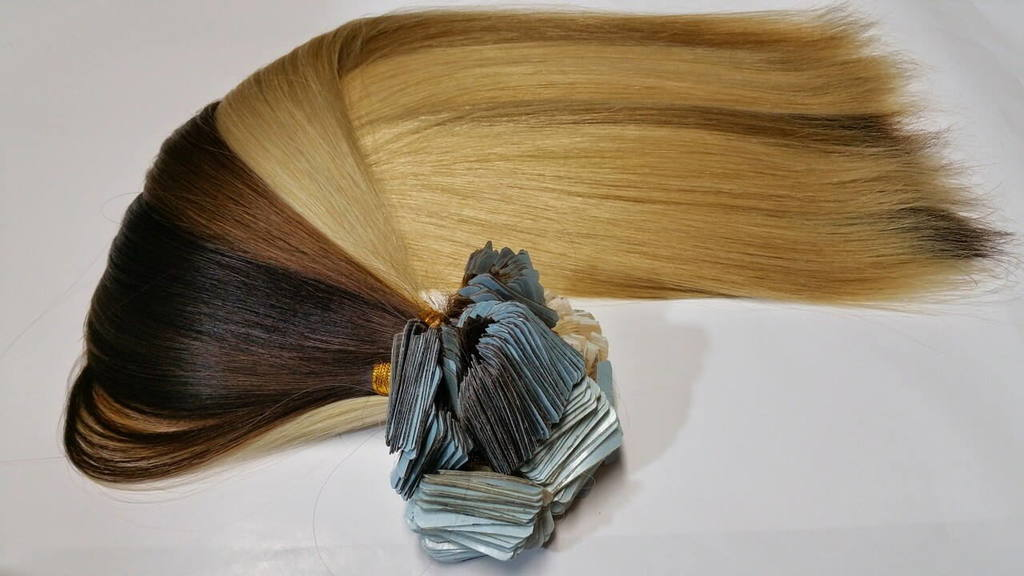 selection of best hair extensions - tape extensions