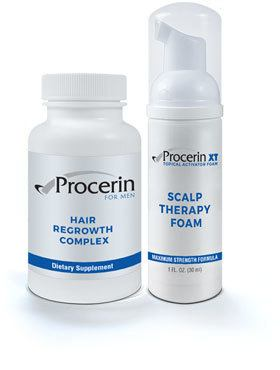 procerin tablets and foam